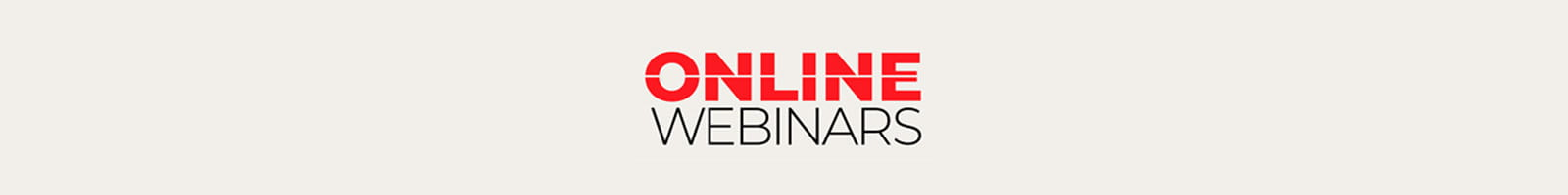 Online webinar header
