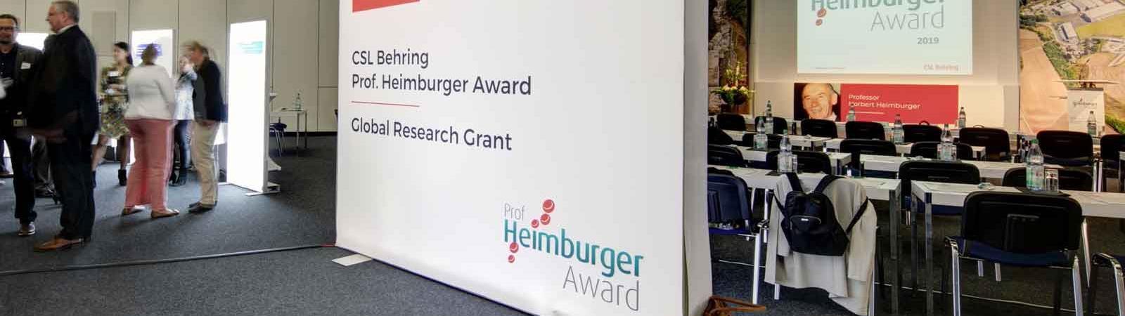 Professor Heimburger Awards